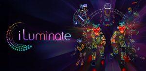 Graphic for iLuminate light show in Las Vegas